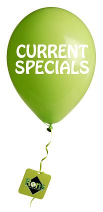 Ron's Specials